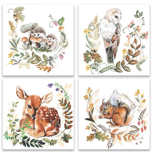 Zvieratká z lesa