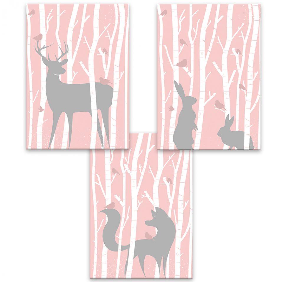 Zvieratká v lese