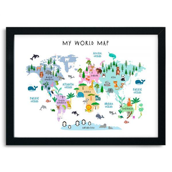 Zvieracia mapa sveta