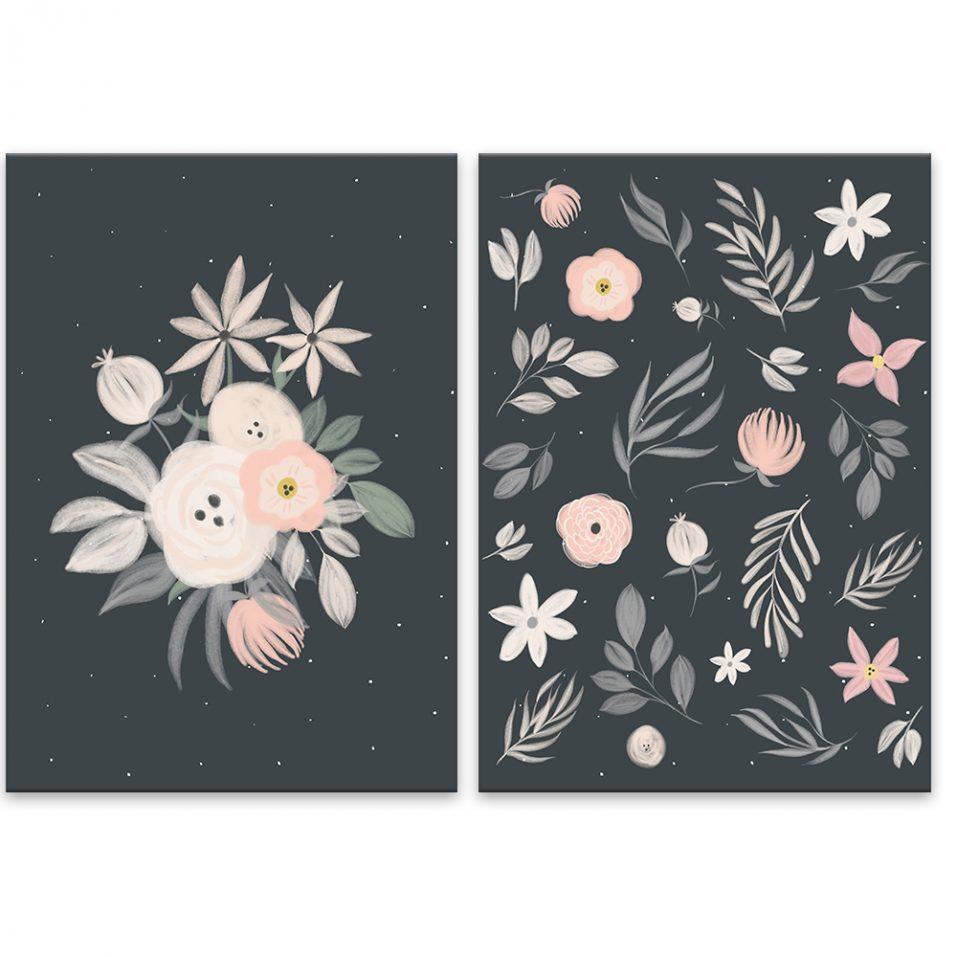 Ružové kvety