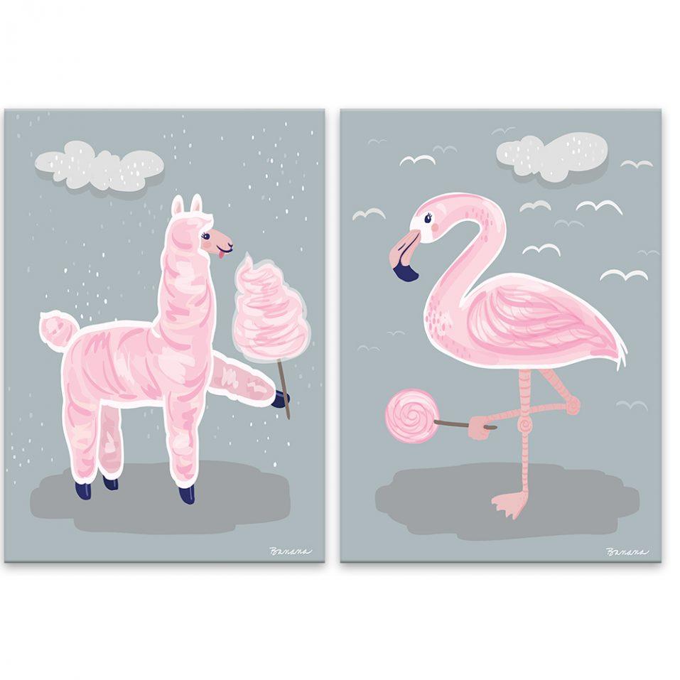Ružové zvieratká