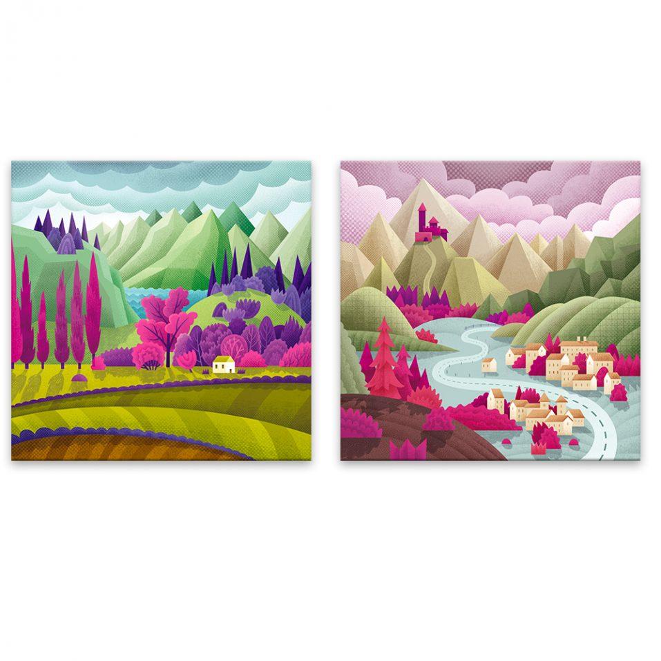 Farebné krajinky
