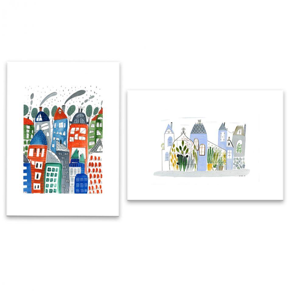 Farby v mestách