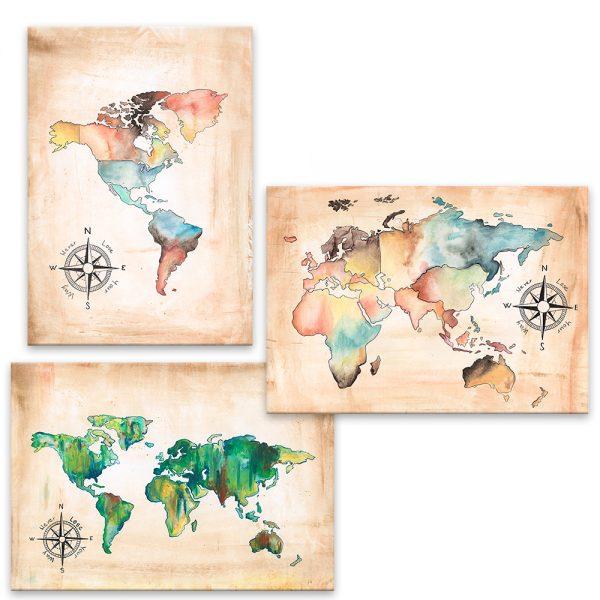 Farebné kontinenty