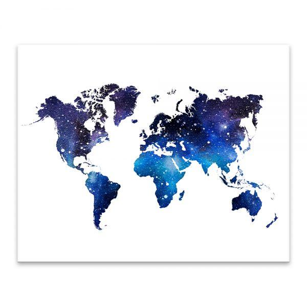 Mapa sveta - Galaxia