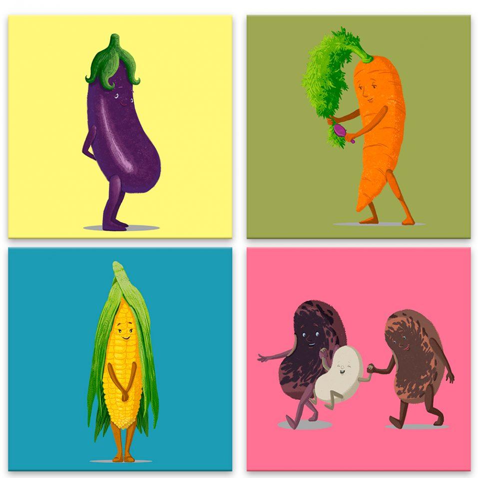 Veselá zeleninka