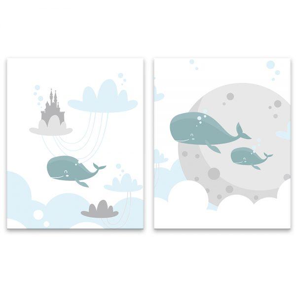 Boy bundle - whales