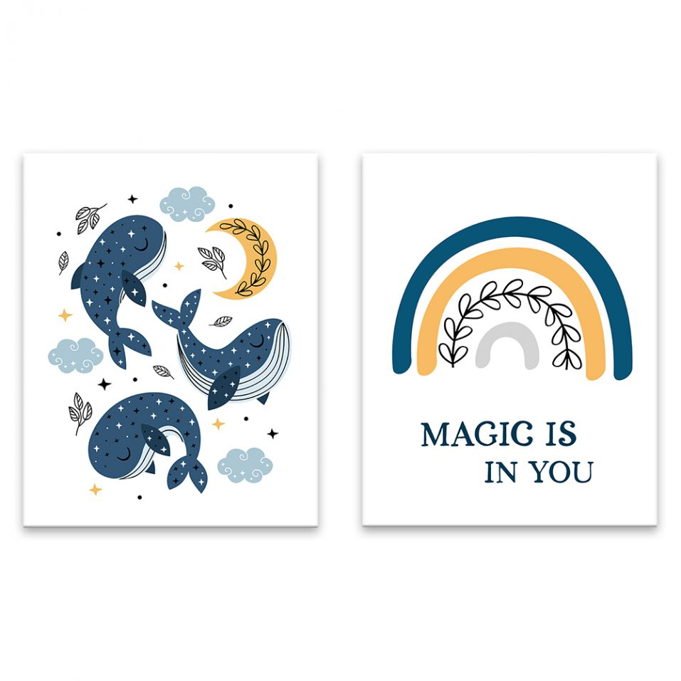 Magical whales